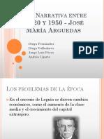La_Narrativa entre 1920 - 1950 y Arguedas.ppt