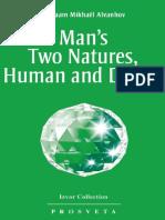 Man's Two Natures, Human and Divine (Izv - Aivanhov, Omraam Mikhael