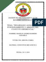 Informe Del Diferencial 2
