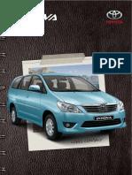 Toyota Innova Brochure