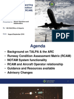 Airport Condition Reporting Airport Stakeholders 2016