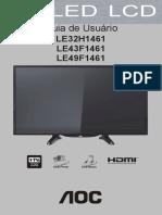 X41G43MV61505D LE32H1461 20_LE43F1461 20_LE49F1461 20 Portuguese 20151111 v4