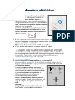 Condensadores y Dieléctricos SONIA