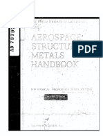 Aerospace Structural Metals Handbook, Volume 1