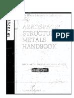 Aerospace Structural Metals Handbook, Volume 1