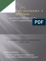 Materia, Propiedades y Clasificación. (1)