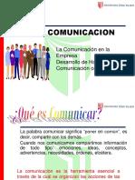 La Comunicación en La Empresa Desarr. y Habilidades