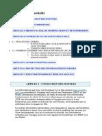 Charte Confidentialite FR