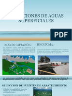 Captaciones de Aguas Superficiales