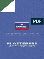 Plasterers Accessories