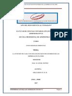 Cont. Gerencia - Funciones de Los Estados Finanacieros. de Las Empresas en El Peru
