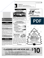 Claremont COURIER Classifieds 12-8-17