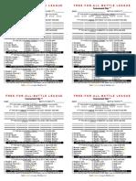 free-for-all  battle league tournament slips 4-0 - google docs