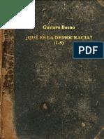 Que Es Democracia