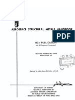 Aerospace Structural Metals Handbook, Volume 3