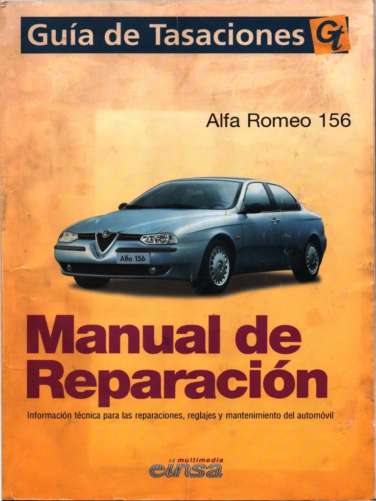 manual reparacion alfa romeo 156 rh scribd com Alfa Romeo 159 descargar manual de taller alfa romeo 156