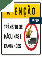Máquinas e Caminhões