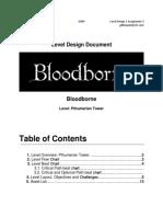 Level Design Document Example - LDD (Paulo Andrade)