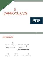 Ácidos Carboxílicos - Química Orgânica