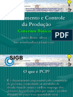 01 - Planejamento e Controle Da Produção (PCP) - Conceitos Básicos