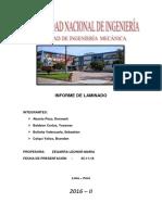 Informe Final Laminado