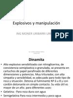 Explosivos y Manipulación