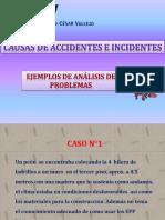 2.- Ejemplo de Ishikawa Causas de Accidente e Incidentes