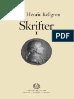 Johan Henric Kellgren - Poem utan hjälte - Oxenstiernas recusatio och landskapsdiktens politik