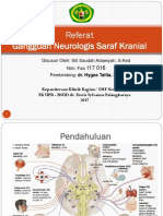 Gangguan Neurologis Saraf Kranial