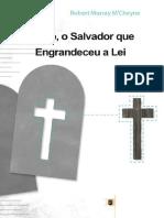 Robert Murray MCheyne - Cristo%2C o Salvador Que Engrandeceu a Lei