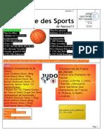 La Gazette des Sports #1