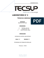 Laboratorio Nº 6 Entorno Labview - Mecatrònica