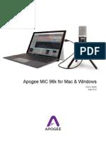 ApogeeMiC96kWIN-MACUsersGuide