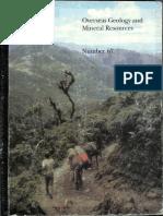 BGS N67 the El Oro Metamorphic Complex_Ecuador_Geology and Economic Mineral Deposits JAspden,WBonilla,PDuque1995