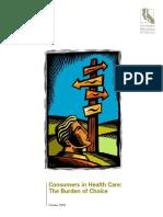 PDF ConsumersInHealthCareBurdenChoice