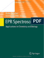 EPR Spectroscopy-App in Chemistry & Biology (Topics in Current Chemistry v.321)_M.drescher & G.jeschke