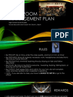 edu 220 clasroom management plan