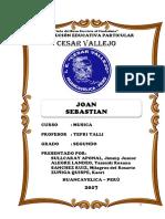 Joan Sebastian Jaripeo Monografia Cesar Vallejo