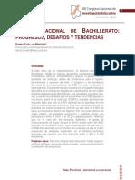 Sistema Nacional de Bachillerato. Desafios y Tendencias