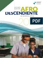 Organizaciones Poblacion Afrodescendiente Am Lat