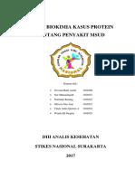 Tugas Biokimia Kasus Protein Tentang Penyakit Msud