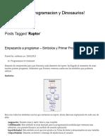 Raptor _ Tecnologia,Programacion y Dinosaurios!