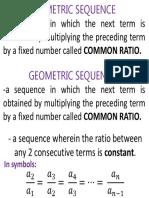 Geometric Sequencevisual Aid