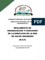 Rof Red de Salud Angaraes 2015