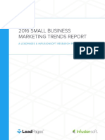 2016 Small Business Marketing Trends Report Leadpages Is