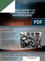 America Latina y La Sustitucion de Las Importaciones