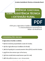 ASSISTÊNCIA TÉCNICA E EXTENSÃO RURAL