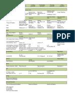 Schedule 2007-2008 Revised