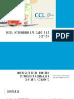 S4 Funcion Estadistica II CONTAR.si