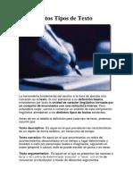 Los Distintos Tipos de Texto.docx